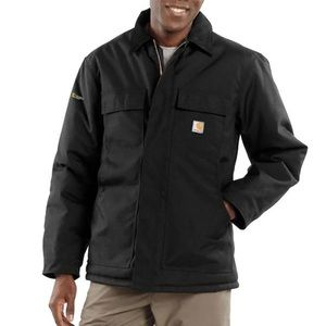 Carhartt Arctic Quilt Lined Yukon Coat,Black,L